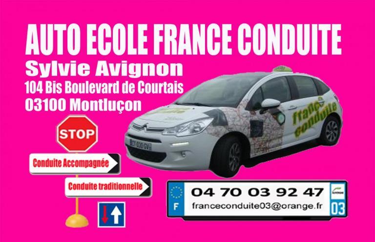 Carte De Visite France Conduite
